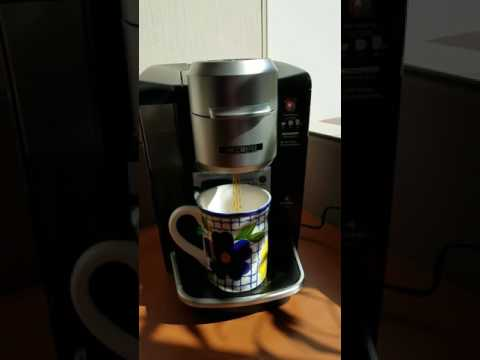 make tea in an espresso machine