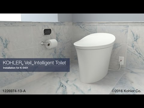 Installation - Veil Intelligent Toilet