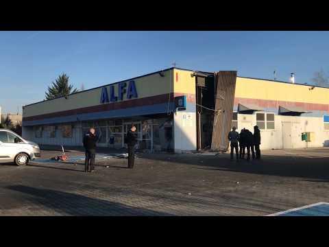 Wideo: Wysadzili bankomat na Przylesiu w Lubinie