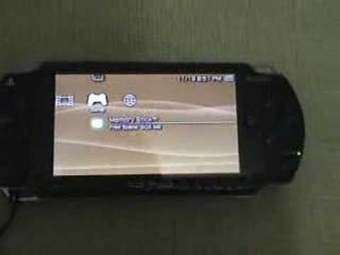 Instalando 1Seg no PSP Fat / Installing 1Seg on PSP Phat