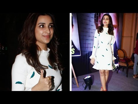 Parineeti Chopra Makes Stunning Entry At Mumbai Ai
