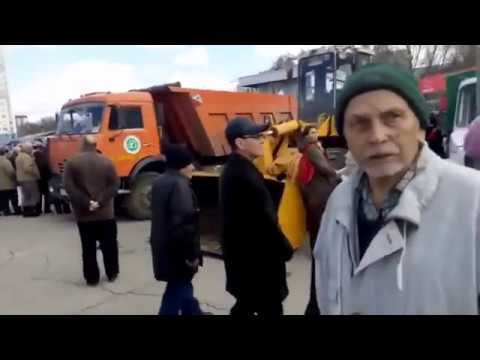 Майдан в Самаре глазами ватника на марше пенсионеров 23 апреля - DomaVideo.Ru