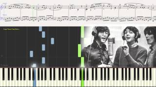 The Beatles - Yesterday (piano tutorial)