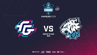 Forward Gaming vs EVOS, ESL  One Hamburg, bo2, game 1 [GodHunt]