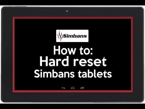 Simbans FunDO - How to Hard Reset