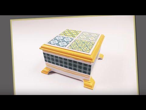 How To Do Decoupage Using Modge Podge
