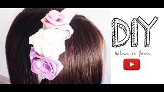 DIY: Balaca de rosas en cinta!!