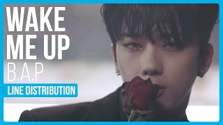 What is the line distribution like for B.A.P's comeback song Wake Me Up?Twitter : twitter.com/hexa6onkpopInstagram : instagram.com/hexa6onkpopLIKE the video if you enjoyedCOMMENT for any video suggestions or requests~SUBSCRIBE for more content just like this ^^Songs Used:B.A.P - Wake Me Up (Intro)B.A.P - Diamond 4 Ya (Outro)
