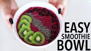 Resep Mudah Membuat Smoothie Bowls