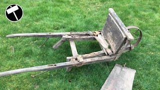 Video Antique Wooden Wheelbarrow Restoration MP3, 3GP, MP4, WEBM, AVI, FLV Juni 2019