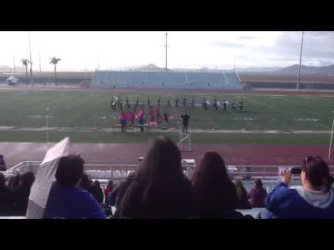 Bishop Amat Band and Colorguard 2012 State Band Championshi