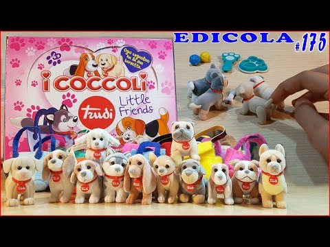 COCCOLI Little Friends TRUDI + SCENETTA (EDICOLA by Giulia Guerra) (видео)