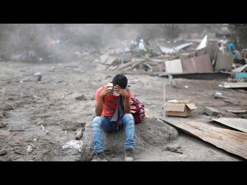 Verzweiflung in Guatemala nach Vulkanausbruch