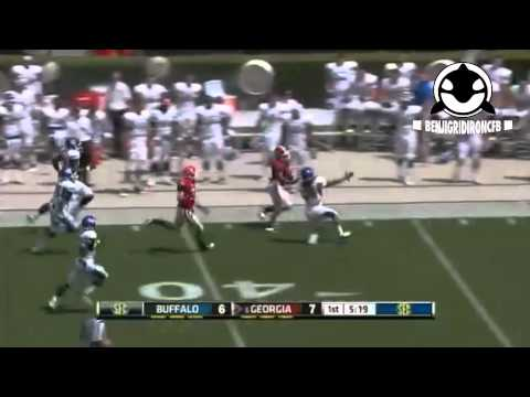 Todd Gurley 100-yard kickoff touchdown vs Buffalo 2012 video.