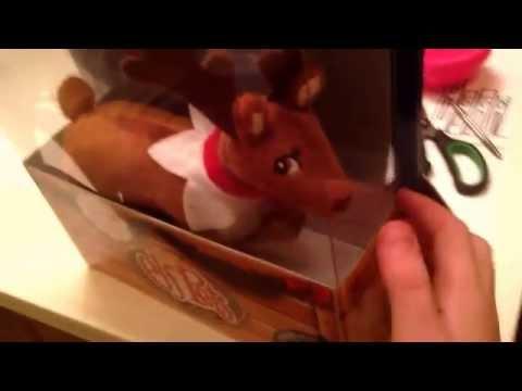 Unboxing my elf on the shelf pet reindeer. (видео)