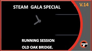 Old Oak Bridge Steam galaMeet the Steam fleet in this mini gala with a chance to see the new extension in action.Old Oak Bridge steam running session with real sound effects to add interest, themed in the style of a real steam gala.    *  Running Loco's -           GWR 4-6-0 King Edward I          GWR 0-6-0  6606                BR 34041 - Battle of Briton class, Winton          Thomas the tank engine departure          Class 20 coaching duty.Followed by passing  freight movement -  loco BR Class 37 37041 This Video is owned by CHEEKYTEK feel free to subscribe & share.