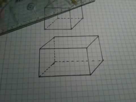 Würfel Und Quader In 3d Zeichnen 3d Zeichnen Lernen смотреть