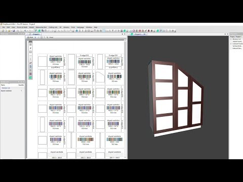 Printing Part by Part Labels in Polyboard