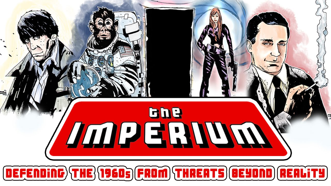 "Back British Telefantasy Love Letter ""The Imperium"""