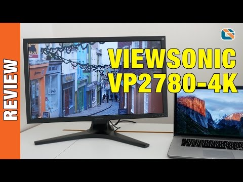 Viewsonic VP2780-4K IPS 4K Monitor Review with 60Hz HDMI 2.0