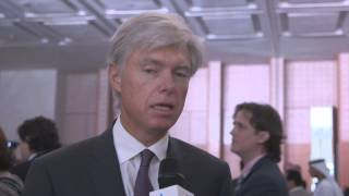 Arnaud Breuillac, TOTAL, at ADIPEC 2014, spoke to Eithne Treanor