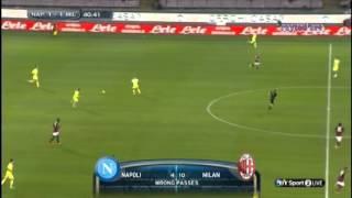 Gökhan Inler gegen den AC Milan
