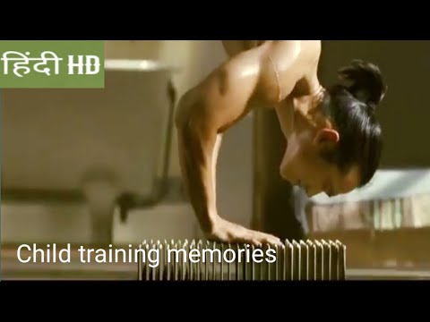 Ninja Assassin :ninja assassin movie child training scene in Hindi