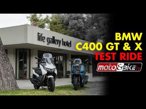 Bmw C400 GT & X