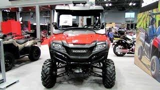 7. 2014 Honda Pioneer 700-4 All Terrain Vehicle Walkaround - 2013 New York Motorcycle Show