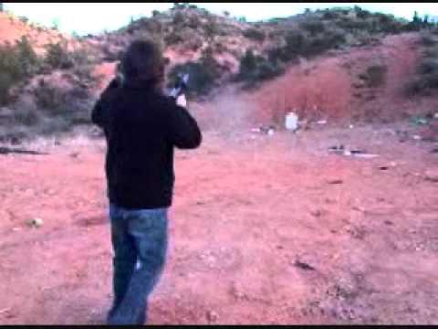 Lamunyon Family Shooting Fun Christmas 2009 - Sedona AZ