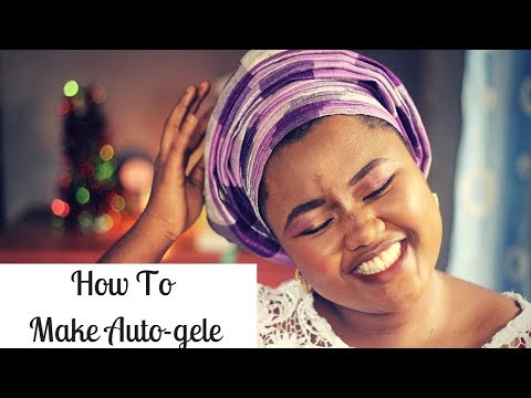 HOW TO SEW AUTOGELE(TRAINING CLOSED) | Gele Series By Damie Alabi