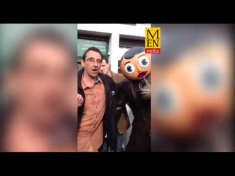 Frank Sidebottom Statue Unveiling - Manchester Evening News