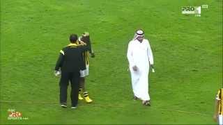 إحتفالات لاعبي هجر بعد الفوز على الإتحاد - MBC PRO SPORTS