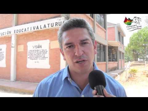 Visita de la Secretaría de Educación de Casanare, a la Institución Educativa La Turúa del municipio de Aguazul