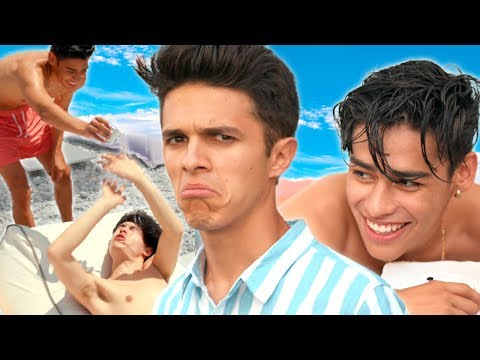BEST FRIENDS SPA DAY (not relaxing) | Brent Rivera's Dream Vacation EP 3