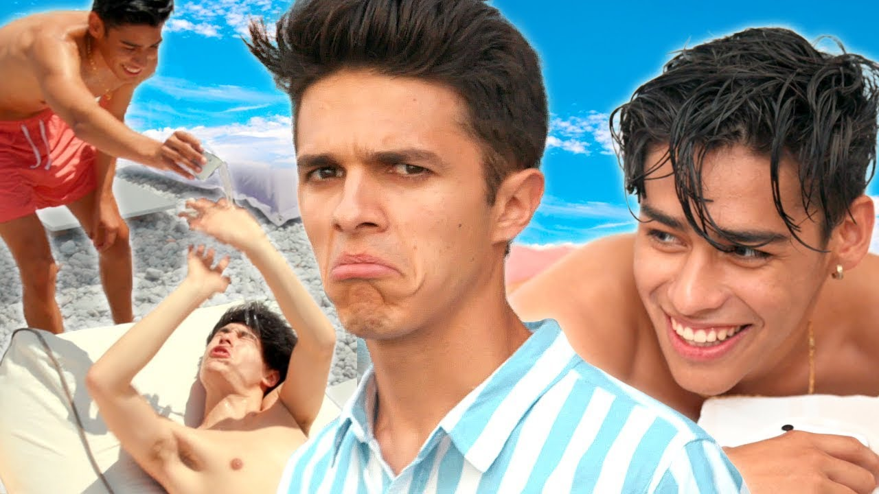 BEST FRIENDS SPA DAY (not relaxing) | Brent Rivera's Dream Vacation EP 3 - YouTube