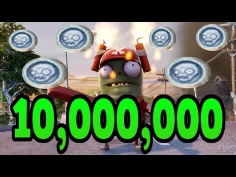 million - Plants vs. Zombies Garden Warfare - 10000000 Coins (10 million coins) - WORLD RECORD! ❤❤ PvZ Full Playlist ➥ http://bit.ly/PvZFull ❤ SUBSCRIBE NOW! ➥ http://bit.ly/IULITM ❤ My...