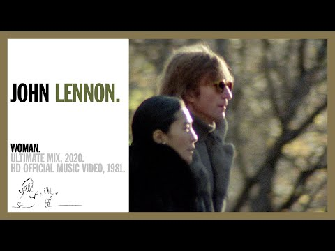 WOMAN. (Ultimate Mix, 2020) - John Lennon (official music video HD)
