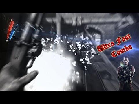 Dishonored Ultra fast creative Daud 12 Kills combo HD 1080p 60 fps