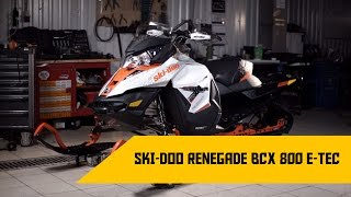 6. Обзор Ski-Doo Renegade BCX 800 ETEC