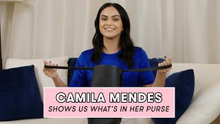Camila Mendes Reveals the Beauty Products She Never Leaves Home Without   What's In My Purse by Seventeen Magazine