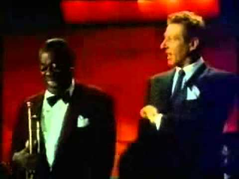 louis armstrong, danny kaye scat singing (видео)