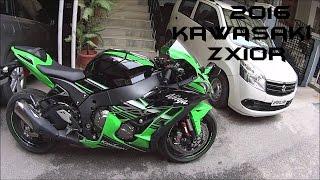 3. 2016 Kawasaki Ninja ZX10R Stock Exhaust Note/Walkaround