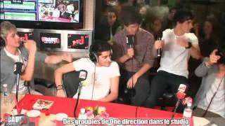 One Direction dancing 'Aí Se Eu Te Pego'