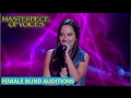 BEST FEMALE COVER BLIND AUDITIONS IN THE VOICE