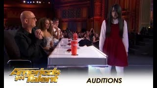 Video Sacred Riana: Famous CREEPY Girl Magician Comes To America! | America's Got Talent 2018 MP3, 3GP, MP4, WEBM, AVI, FLV Mei 2019