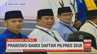 Video Didampingi AHY, Prabowo-Sandiaga Uno Resmi Daftar Capres-Cawapres di KPU #PrabowoSandi MP3, 3GP, MP4, WEBM, AVI, FLV November 2018