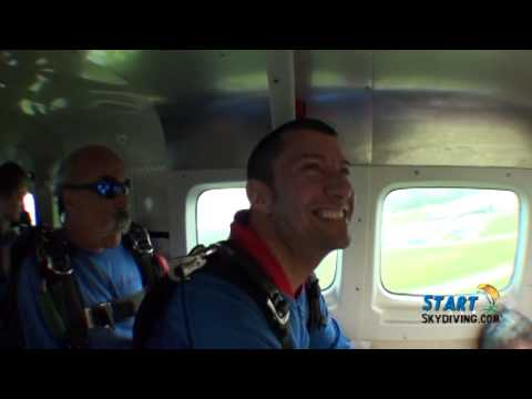 Jamie mcclintic - My skydiving experience at StartSkydiving.com in Middletown, Ohio.