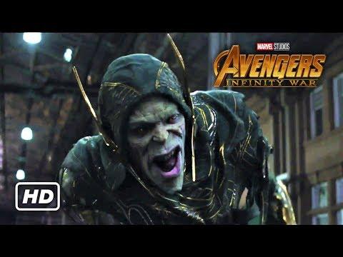 Avengers: Infinity War - Avengers vs Black Order Fight Scene (HD Movie Clip)