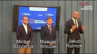 No i ich zatkało! Posłowie PO zaorani przez dziennikarkę na konferencji w Sejmie